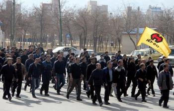 نهمین روز از تجمع کارگران هپکو/ مدیرعامل پاسخگو نیست!