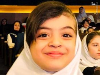 فوت دختر ۸ ساله زوج مدافع سلامت بر اثر کرونا +عکس