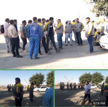 اعتراض کارگران خط وابنیه فنی راهآهن ورامین،گرمسار، کرج، کردان هشتگرد و آبیک