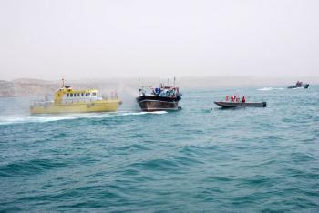 کشف ۵۷ هزار لیتر سوخت قاچاق در آبهای ماهشهر