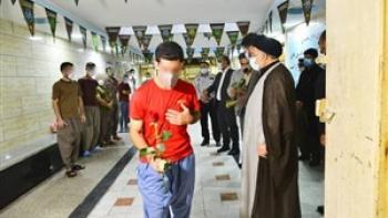 ۲۵ زندانی در شیراز به خانه هایشان بازگشتند