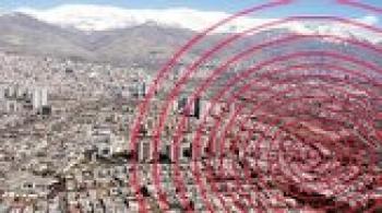 فوت یک نفر در زلزله سمنان