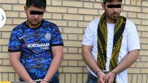 دستگیری سارقان کابلهای برق بازار